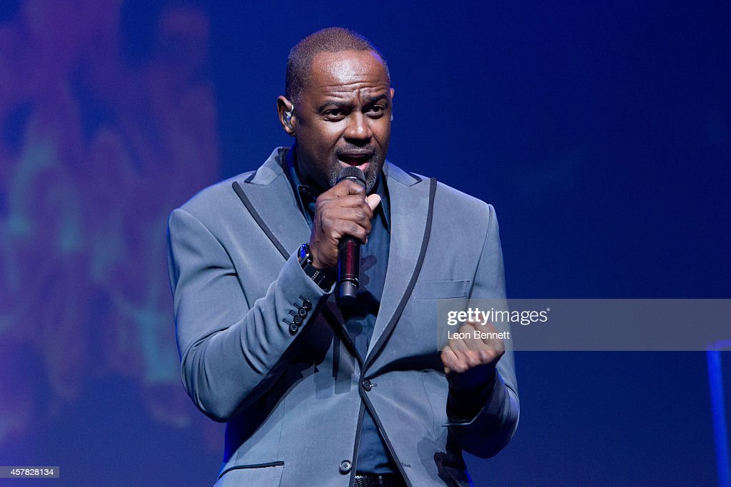 94.7 The Wave Presents Fantasia & Brian McKnight In Concert : News Photo
