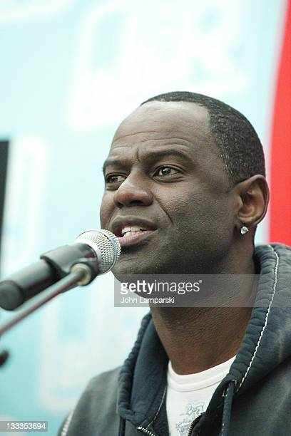 Brian McKnight performs in support of 'Evolution Of A Man' at JR Music and Computer World on October 27 2009 in New York City