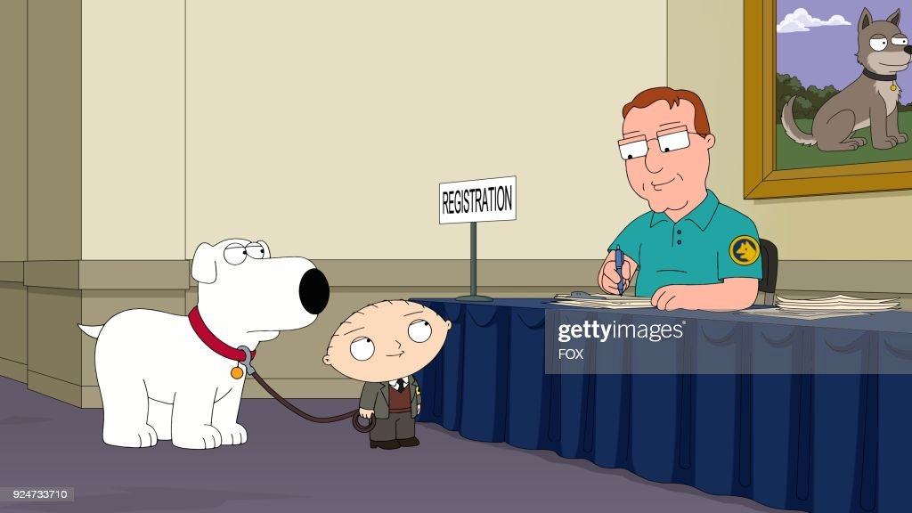 Brian meets a female show dog name Ellie (guest voice Amanda Seyfried) and enters a show dog competition in the Boy (Dog) Meets Girl (Dog)' episode of FAMILY GUY airing Sunday, Jan. 7 (9:00-9:30 PM ET/PT) on FOX.