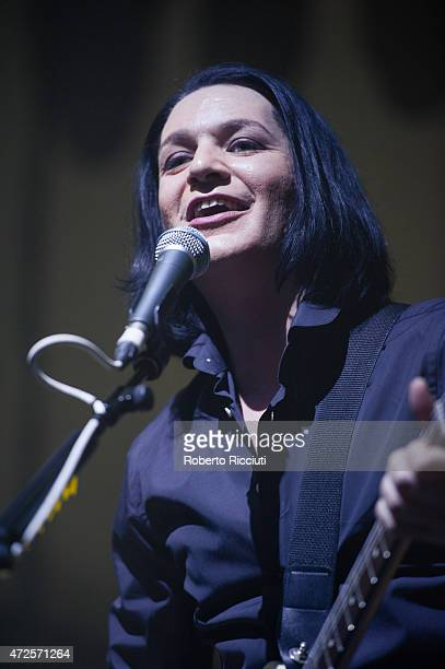 Brian Molko of Placebo performs at The Corn Exchange on February 28 2015 in Edinburgh United Kingdom