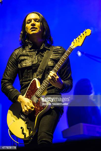 Brian Molko of Placebo performs during day 2 of Southside Festival on June 20 2015 in Neuhausen Germany
