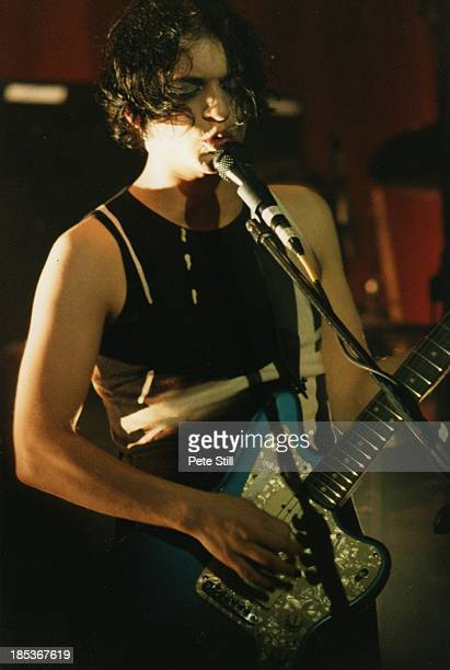 Brian Molko of Placebo performs on stage at the Brixton Academy on October 24th 1998 in London England