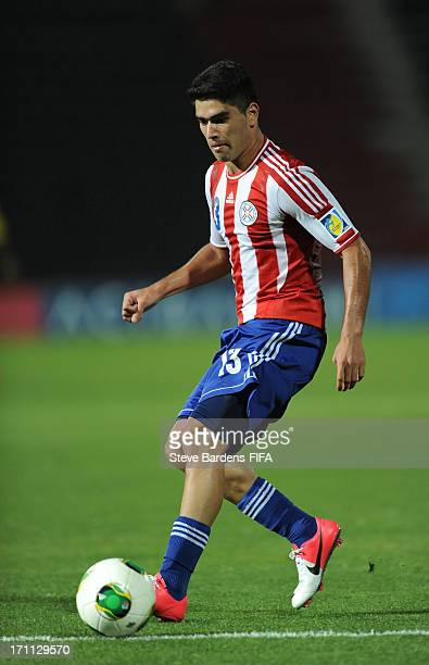 Brian Montenegro of Paraguay in action during the FIFA U20 World Cup Group D match between Paraguay and Mali at Kamil Ocak Stadium on June 22 2013 in...