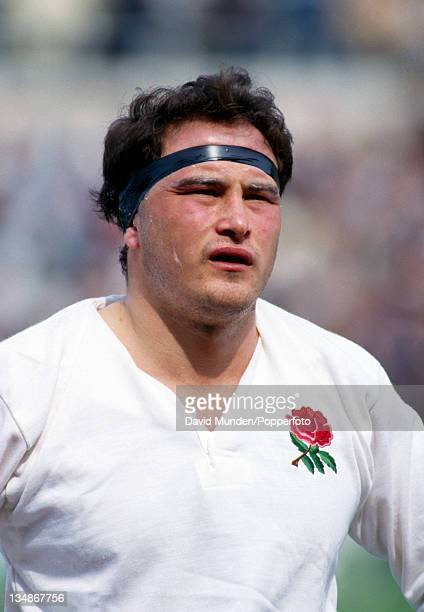 Brian Moore in action for England circa 1992
