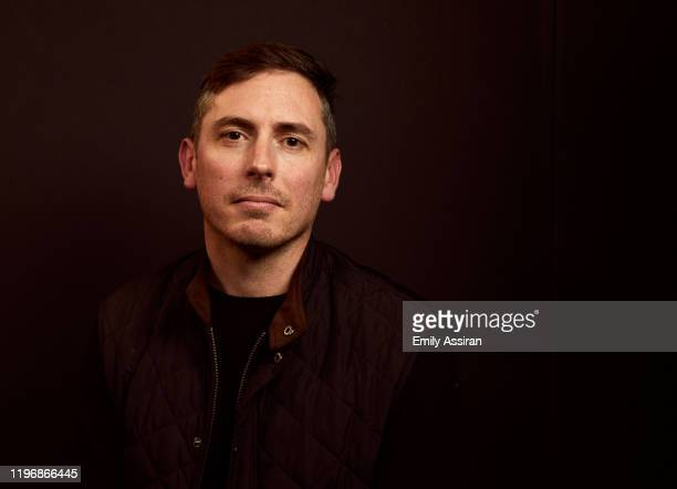 Brian Morrison from Bastards' Road poses for a portrait at the Pizza Hut Lounge on January 26 2020 in Park City Utah