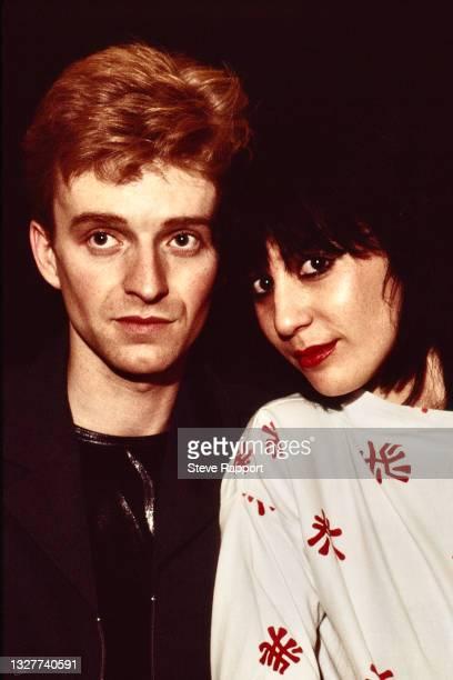 Brian Moss & Josie Warden of Vicious Pink Phenomena, The Warehouse, Leeds 3/21/82 .