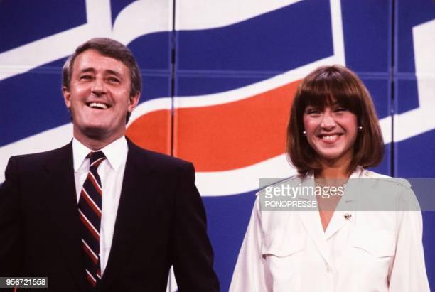 Brian Mulroney accompagné de son épouse Mila élu Premier ministre en septembre 1984 à Montréal Canada