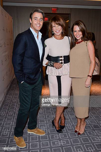 Brian Mulroney Mila and Jessica Mulroney attend the George Christy Party during the 2013 Toronto International Film Festival at Four Seasons Hotel on...
