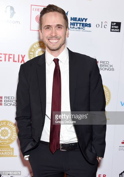 Brian Murphy attends the 9th Annual Guild Of Music Supervisors Awards at The Theatre at Ace Hotel on February 13 2019 in Los Angeles California