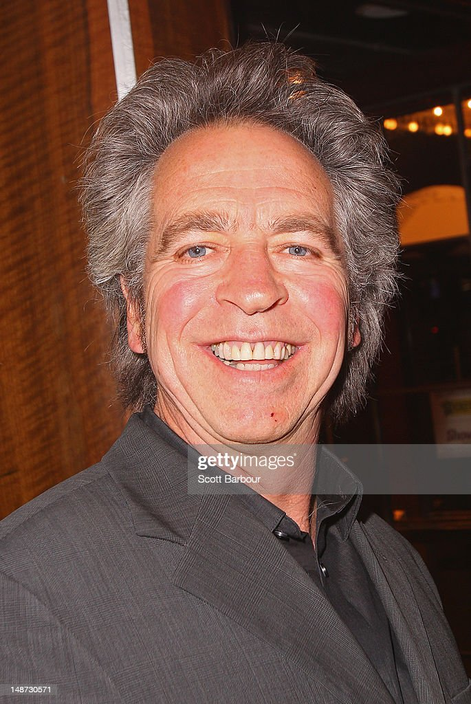Brian Nankervis arrives at the opening night of Barry Humphries' Eat, Pray, Laugh show show at Her Majestys Theatre on July 19, 2012 in Melbourne, Australia.