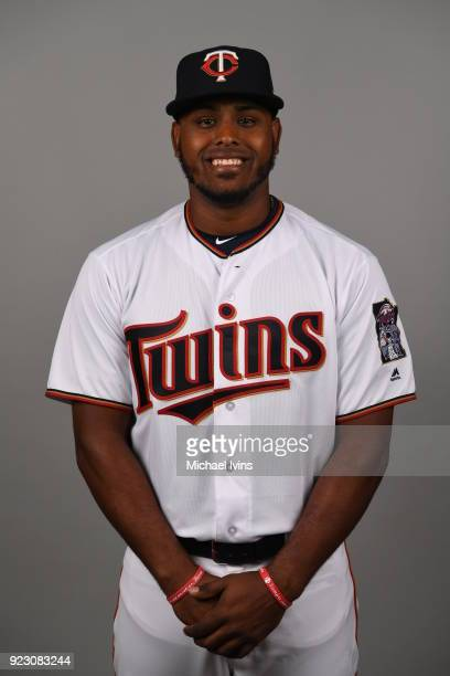 Brian Navarreto of the Minnesota Twins poses during Photo Day on Wednesday February 21 2018 at CenturyLink Sports Complex in Fort Myers Florida