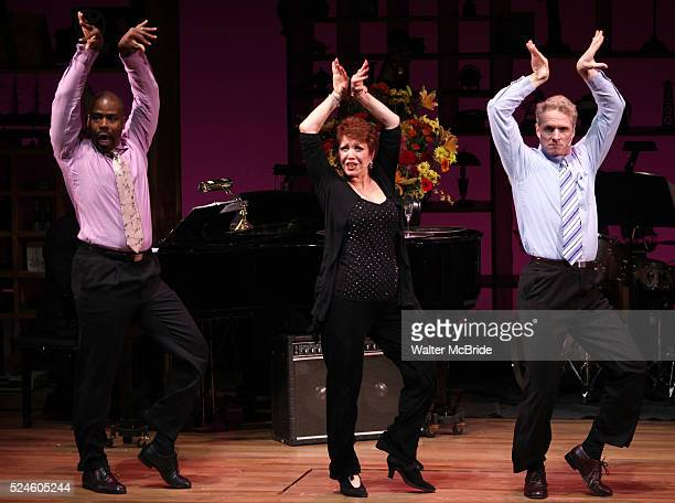 Brian O'Brien Donna McKechnie Bernard Dotson performing at the Nothing Like A Dame A Party For Comden And Green at the Laura Pels Theatre in New York...
