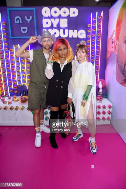Brian O'Connor, Anarkee, and Hayley Williams attend SEPHORiA: House of Beauty – Day Two at The Shrine Auditorium on September 08, 2019 in Los...