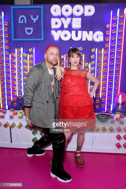 Brian O'Connor and Hayley Williams attend SEPHORiA: House of Beauty – Day One at The Shrine Auditorium on September 07, 2019 in Los Angeles,...