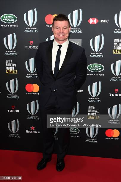 Brian O'Driscoll attends the World Rugby via Getty Images Awards 2018 at the MonteCarlo Sporting Club on November 25 2018 in MonteCarlo Monaco