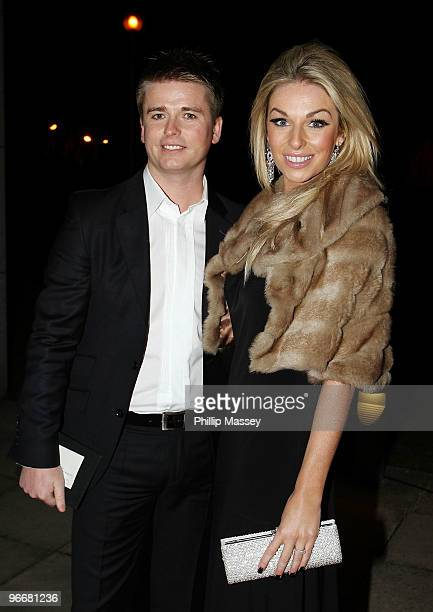 Brian Ormond and Pippa O'Connor attends the Night For Love Charity Ball in aid of The Samuel L Jackson Foundation and Irish Autism Action on February...