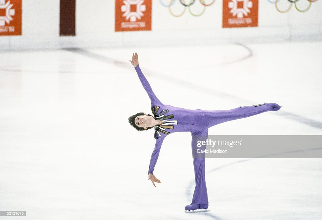 1984 Winter Olympics Men's Figure Skating : News Photo