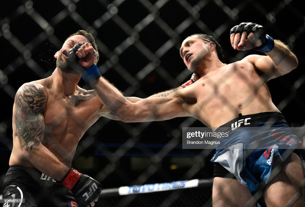 UFC 222: Edgar v Ortega : News Photo