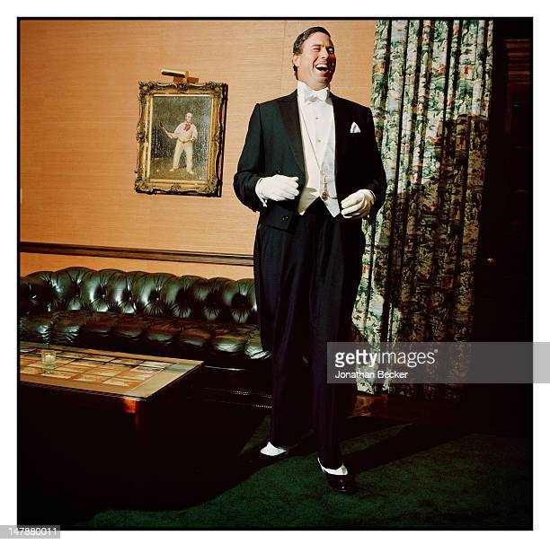 Brian Owen is photographed for Town & Country Magazine on September 8, 2011 at the Tuxedo Park Club in Tuxedo Park, New York. PUBLISHED IMAGE.