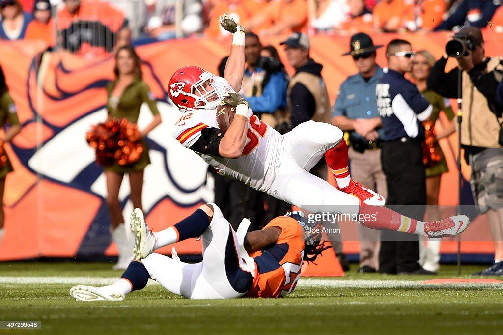 Kansas City Chiefs vs. Denver Broncos : News Photo