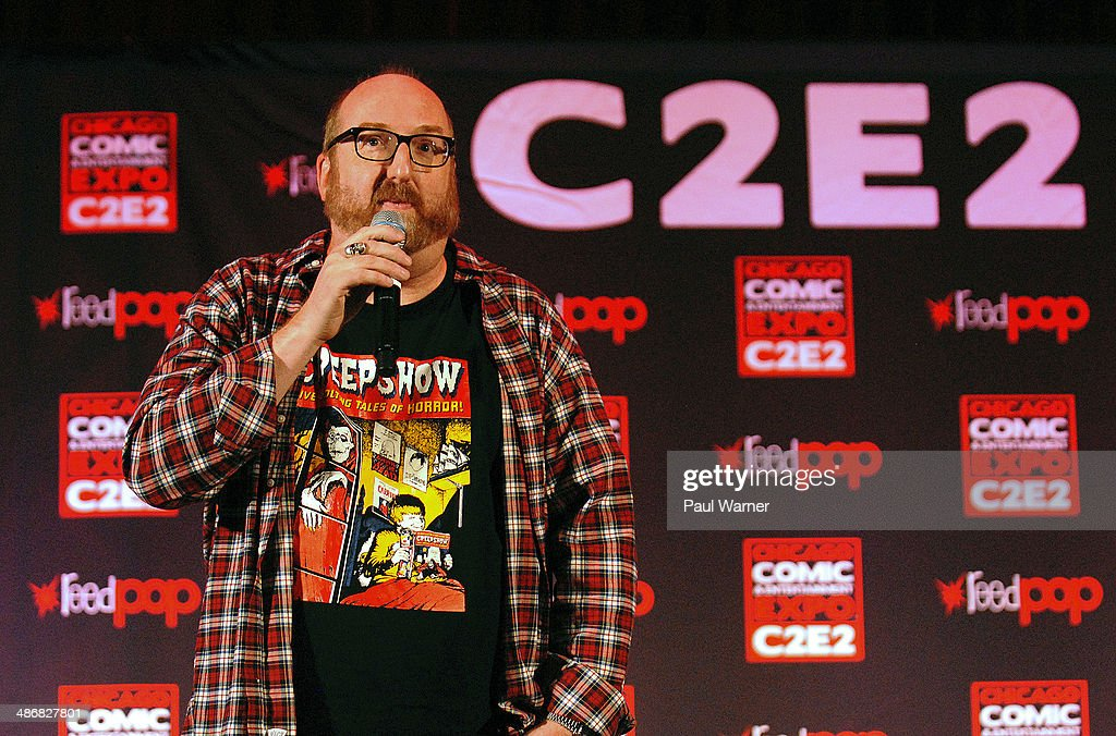Brian Posehn performs at the 2014 Chicago Comic and Entertainment Expo at McCormick Place on April 25, 2014 in Chicago, Illinois.