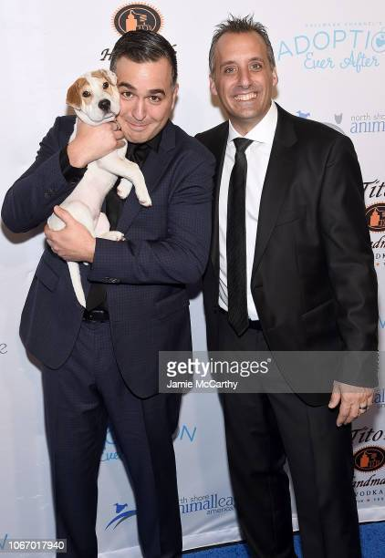 Brian Q Quinn and Joe Gatto attend the North Shore Animal League America's Annual Celebrity Get Your Rescue On Gala at Pier Sixty at Chelsea Piers on...