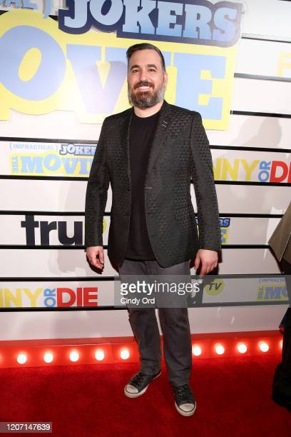 Brian 'Q' Quinn attends the Impractical Jokers The Movie New York Screening at AMC Lincoln Square Theater on February 18 2020 in New York City