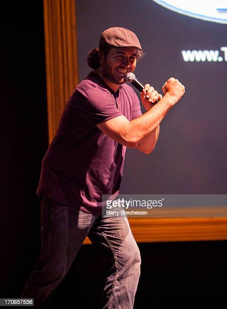 Brian Q Quinn of The Tenderloins and TruTv's Impractical Jokers performs during the TBS Just For Laughs Festival 2013 at the Vic Theatre on June 15...