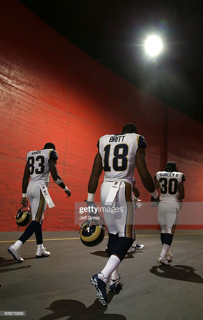 Atlanta Falcons v Los Angeles Rams : News Photo