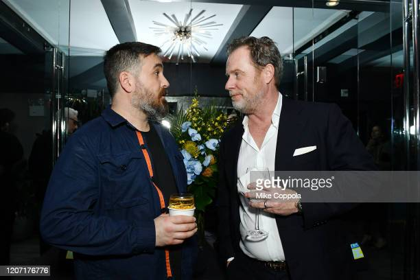 Brian Quinn and Chris Henchy attend the Impractical Jokers The Movie Premiere Screening and Party on February 18 2020 in New York City 739100