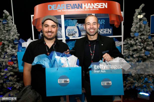 Brian Quinn and James Murray attends the Z100's Jingle Ball 2017 GIFTING LOUNGE on December 8 2017 in New York City