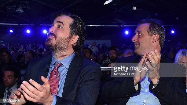 Brian Quinn and Joe Gatto attend during Turner Upfront 2016 show at The Theater at Madison Square Garden on May 18 2016 in New York City