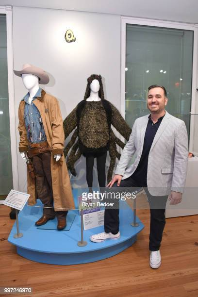 Brian Quinn attends the opening event for the Impractical Jokers Homecoming Exhibit a celebration of the hit truTV series at the Staten Island Museum...