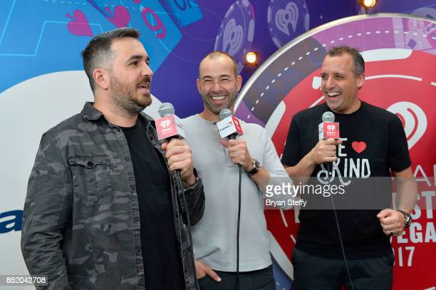 Brian Quinn James Murray and Joseph Gatto attend the 2017 iHeartRadio Music Festival at TMobile Arena on September 22 2017 in Las Vegas Nevada