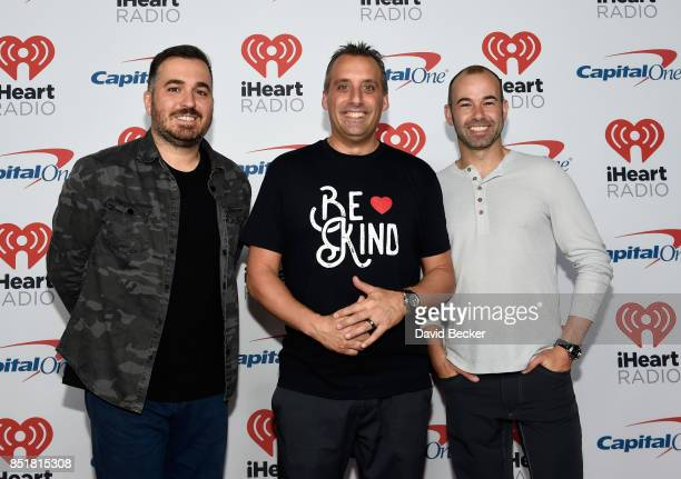 Brian Quinn Joseph Gatto and James Murray attend the 2017 iHeartRadio Music Festival at TMobile Arena on September 22 2017 in Las Vegas Nevada
