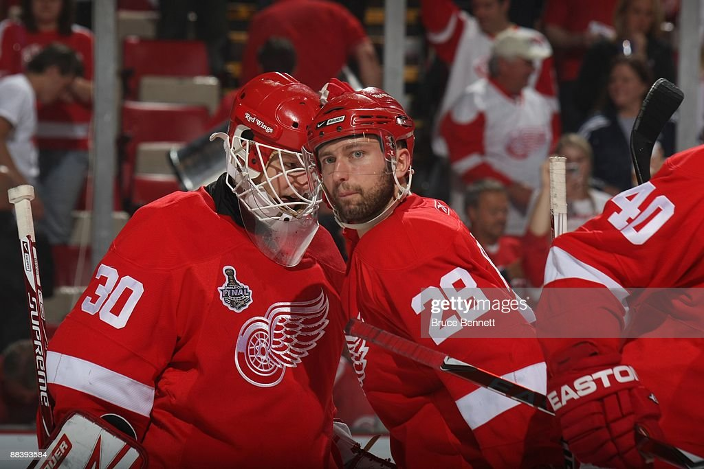 Stanley Cup Finals - Pittsburgh Penguins v Detroit Red Wings - Game Five : News Photo