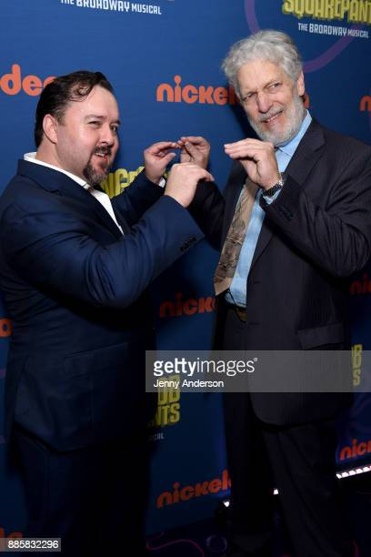Brian Ray Norris and Clancy Brown attends opening night of Nickelodeon's SpongeBob SquarePants The Broadway Musical after party at Ziegfeld Ballroom...