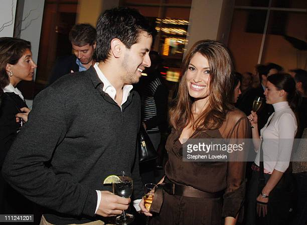 Brian Reyes and Kimberly Guil-Foyle during Brian Reyes Clebrates His Spring 2006 Collection Hosted by Maurice Villency at Maurice Villency Showroom...