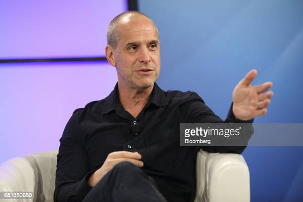 Brian Robbins cofounder and former chief executive officer of AwesomenessTV speaks during The Montgomery Summit in Santa Monica California US on...