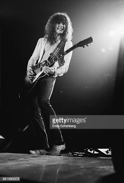 Brian Robertson of Thin Lizzy performs on stage at Colston Hall Bristol United Kingdom October 22 1976