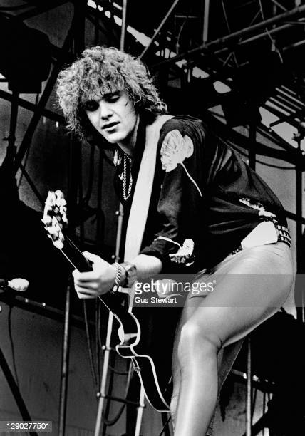 Brian Robertson of Wild Horses performs on stage at the 19th Reading Festival, Reading, England, on August 26th, 1979.