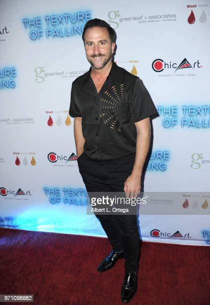 Brian Rodda arrives for Maria Allred's 'The Texture Of Falling' held at The Ricardo Montalban Theatre on June 9 2018 in Hollywood California