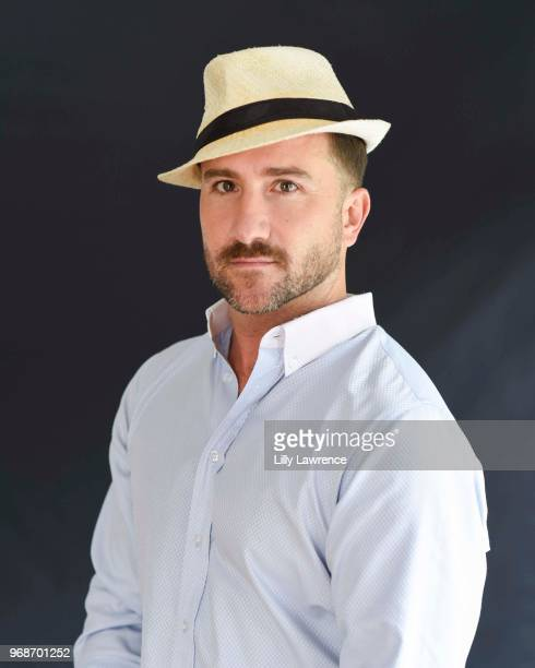 Brian Rodda poses for portrait at Giveback Day at TAP The Artists Project on June 6 2018 in Los Angeles California