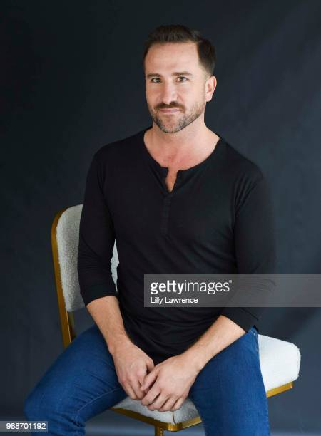 Brian Rodda sitting in an Ulloo42 chair at Giveback Day at TAP The Artists Project on June 6 2018 in Los Angeles California