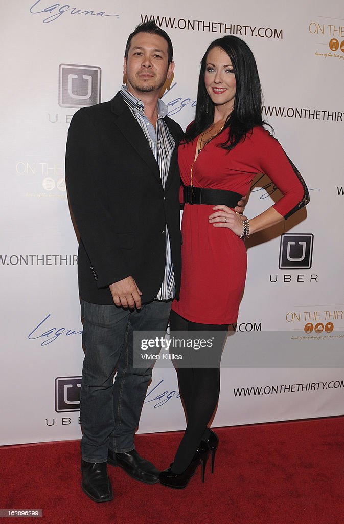 Brian Ronalds and Stephanie Ronalds attend 'On The Thirty' Grand Opening at On The Thirty on February 28, 2013 in Sherman Oaks, California.