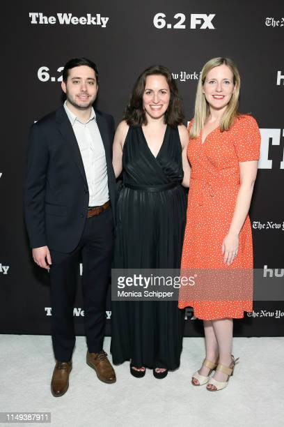 Brian Rosenthal and Emma Fitzsimmons attend The Weekly New York Premiere at Florence Gould Hall Theater on May 15 2019 in New York City