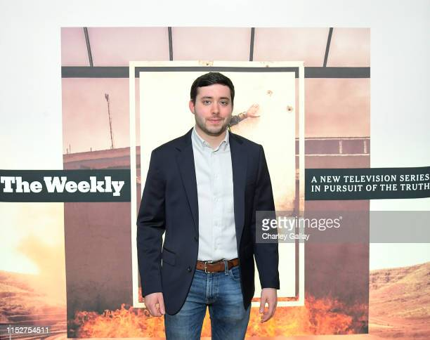 Brian Rosenthal attends FX and The New York Times' The Weekly event at The London Hotel on May 30 2019 in West Hollywood California