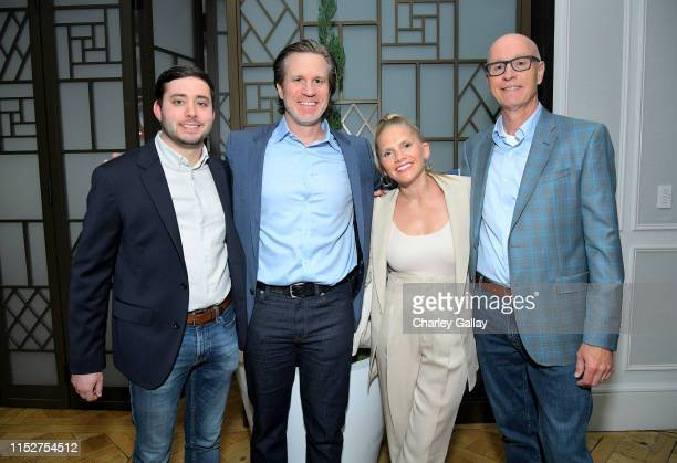 Brian Rosenthal Jason Stallman Holly Harnisch and Dan Barry attend FX and The New York Times' The Weekly event at The London Hotel on May 30 2019 in...