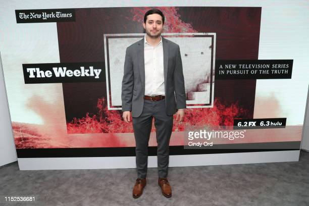 Brian Rosenthal of The New York Times attends FX and The New York Times' The Weekly event at Lightbox on May 29 2019 in New York City