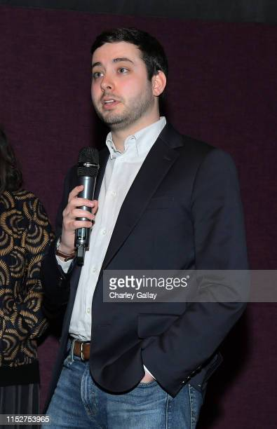 Brian Rosenthal of The New York Times speaks at FX and The New York Times' The Weekly event at The London Hotel on May 30 2019 in West Hollywood...